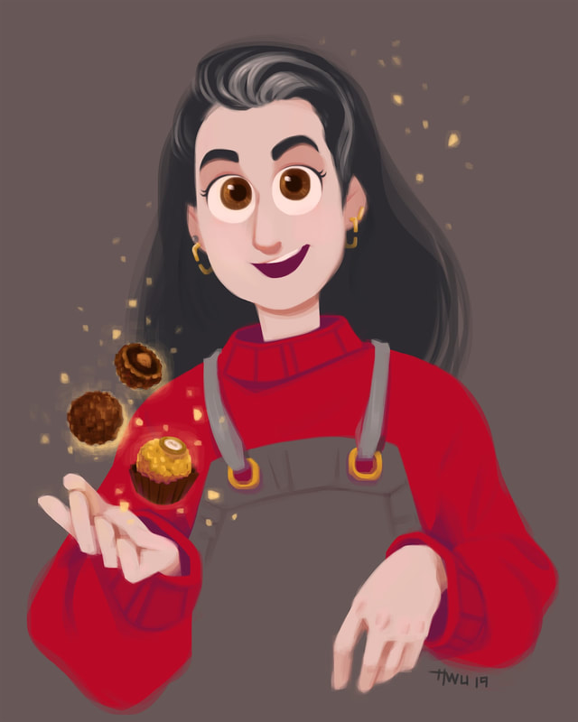 Portrait of Claire from the Bon Appétit Test Kitchen